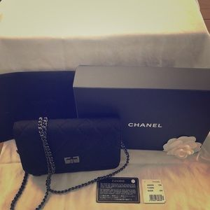 Chanel Diamond Stitch Wallet on Chain